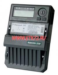 Меркурий 230 ART-02 PQRSIN