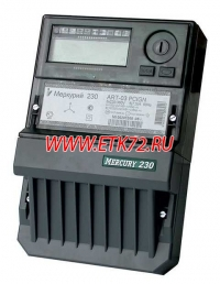 Меркурий 230 ART-03 PQRSIDN