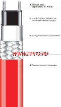 Саморегулирующийся кабель HSB 10 (07-5803-210A)