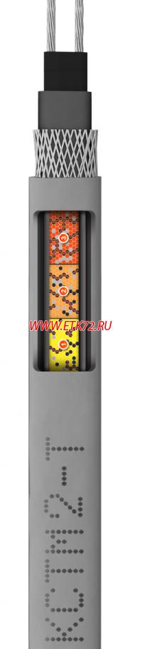 Кабель нагревательный саморегулирующийся 17КСТМ2-Т на катушке L=200м