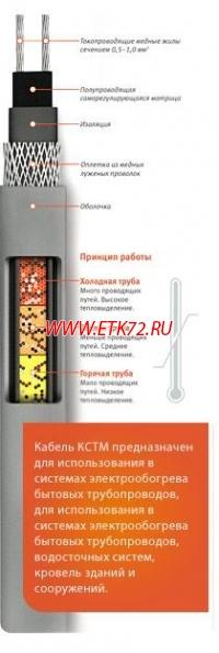 саморегулирующийся кабель 17кстм2 т