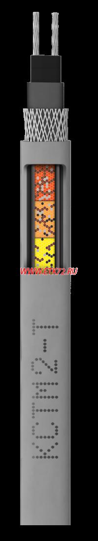 Кабель нагревательный саморегулирующийся 17КСТМ2-Т на бухте L=100м