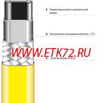 Саморегулируемый параллельный нагревательный кабель MSB, тип 07-5804-225Y